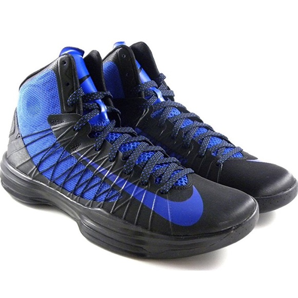 info for 04c4e 849d8 Hyperdunk 2012 Blue   Black Basketball Shoes. M 5b1dc9ddaa8770fb2f9ea33a